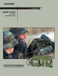 AN/PRC-117F(C) Multiband Multimission Radio Applications ...