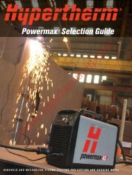 Handheld or mechanized plasma system for cutting and gouging metal