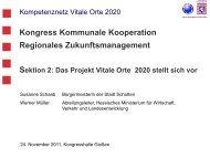 Kompetenznetz Vitale Orte 2020 Susanne Schaab / Werner Müller