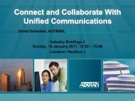 Connect and Collaborate With Unified Communications
