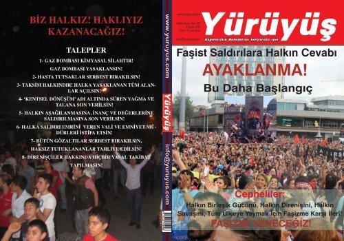 Yürüyüş dergisi