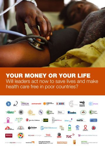YOUR MONEY OR YOUR LIFE - Doctors Without Borders