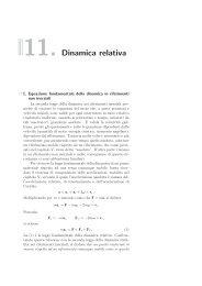 11. Dinamica relativa