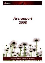 Årsrapport 2008 - Deltagruppen