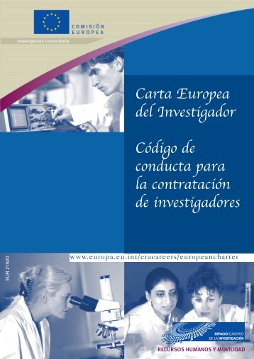 Carta Europea del Investigador - European Commission - Europa