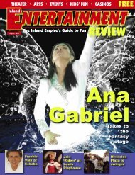 Casinos - Inland Entertainment Review Magazine