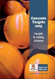 Concrete Targets 2015 scheme - British Precast