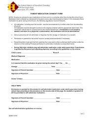 Parent Medication Consent Form - Haverford Township School District