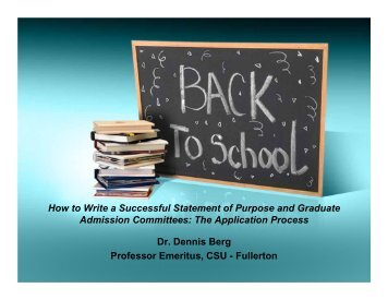 3. How to Write a Successful Statement of - Vietnam Education ...