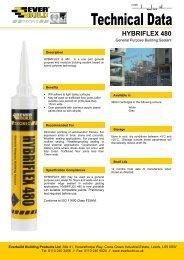 Hybriflex 480.pdf - North West Sealants