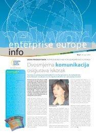 EEN Tihi.indd - Europska poduzetnička mreža Hrvatske