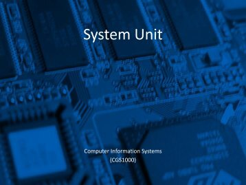 System Unit - Tiona Consulting