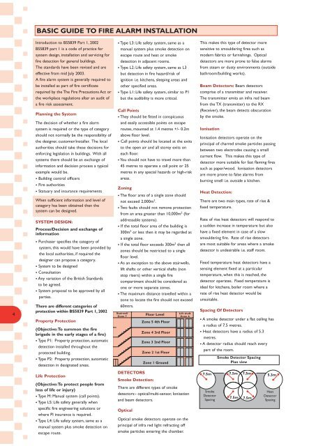 Basic Guide to Fire Alarm Installation - Smiths Technical Systems