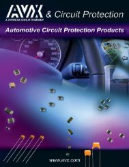 Circuit Protection - AVX