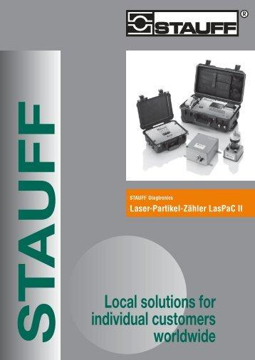 9910000146 Laser-Partikel-Zähler LasPaC II 08-2009 ... - Stauff