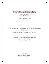 Umweltschutz im Islam - PDF