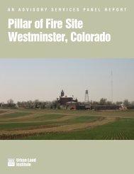 Westminster, CO – Pillar of Fire Site - Urban Land Institute