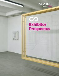 Exhibitor Prospectus - Scope
