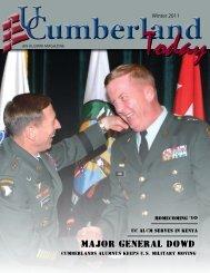 Major General Dowd - University of the Cumberlands
