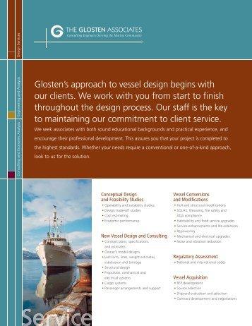 Download Design Services PDF - The Glosten Associates
