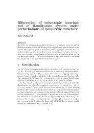 Bifurcation of coisotropic invariant tori of Hamiltonian system under ...