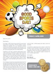 GOOD SPORTS DAY! - Trinity Grammar School