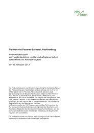 Protokoll   Podiumsdiskussion zum Wettbewerbsverfahren mit Fach