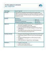 Quiz and Questionnaire Lesson Plan - Routes Into Languages