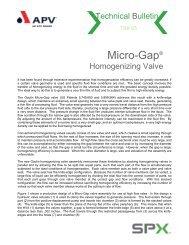 Micro Gap Valve - CMBE