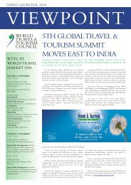 5TH GLOBAL TRAVEL & TOURISM SUMMIT MOVES EAST TO INDIA