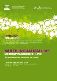 Mehrsprachigkeit live - Margit Niederhuber