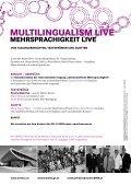 Mehrsprachigkeit live - Margit Niederhuber - Seite 2
