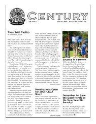 CRCA News October 2004 - Century Road Club Association
