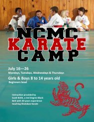 karate_camp - North Central Missouri College