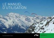 LE MANUEL D'UTILISATION - Niviuk