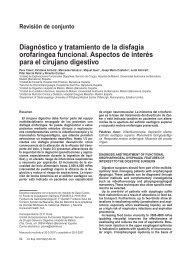 Diagnóstico y tratamiento de la disfagia orofaríngea funcional ...