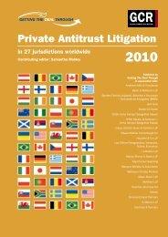 Private Antitrust Litigation - ENS