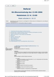 SU-Økonomiudvalg den 2006-09-13 - Billund Kommune