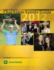 Gold Book Charitable Events Guide - Quad-Cities Online