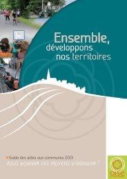 Guide des aides aux communes - Conseil général de l'Oise