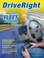 Innovative Management Tools - CarChip DriveRight Online