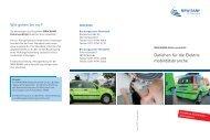 Das Wichtigste im Überblick - Infoflyer - AutoCluster.NRW