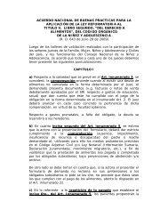 Acuerdo Nacional de Buenas Prácticas - Consejo de la Judicatura