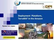 Deployment Plataform, TerraMA2 in the Amazon