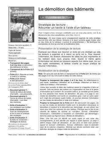 En route – guide d'exploitation – breakwater books ltd.
