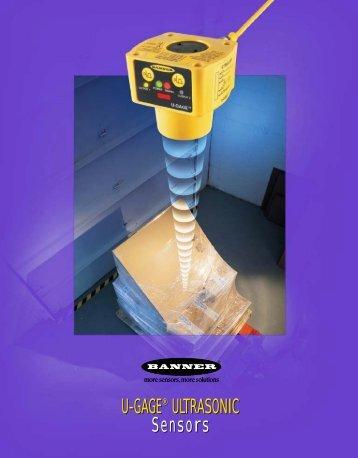 Banner ultrasonic sensors