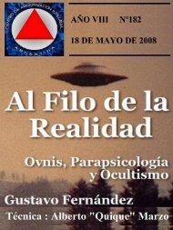 AÑO VIII Nº 182 - Archivos Forteanos Latinoamericano.