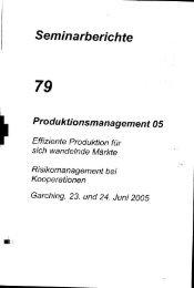 und Einleitung (136 KB) - Herbert Utz Verlag GmbH