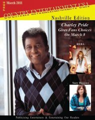 2011 March Issue - Country Entertainment USA