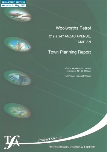 Woolworths Petrol Town Planning Report - Applications